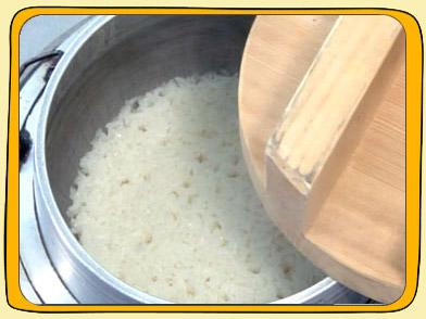 炊き 方 米 もち